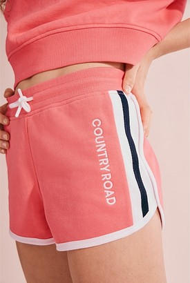 Country Road Teen Recycled Cotton Sweat Logo Short
