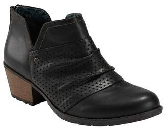 Earth Oakland Amanda Perforated Bootie