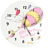 Trend Lab Dr Seuss Oh the Places Clock