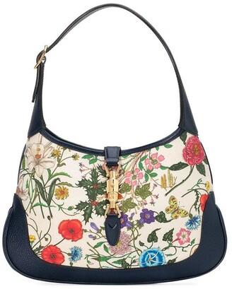 Gucci floral shoulder bag
