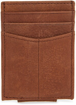 Johnston & Murphy Leather Front Packet Wallet