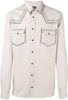 Laneus metallic embellished shirt - men - Tencel - 48