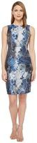 Calvin Klein Brocade Sheath Dress Women's Dress
