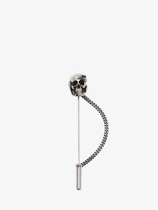 Alexander McQueen Skull and Snake Pin