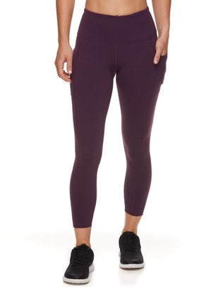 Gaiam Women's Om High-Waisted Ankle Leggings