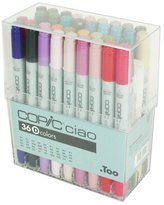Copic Marker Copic I36D Ciao Markers Set D, 36-Piece