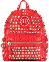 Philipp Plein Junior studded backpack