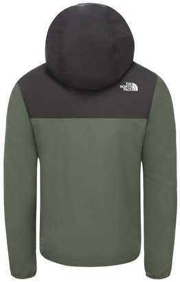 The North Face Reactor Hooded Jacket with Zip Fastening, 6-18 Years