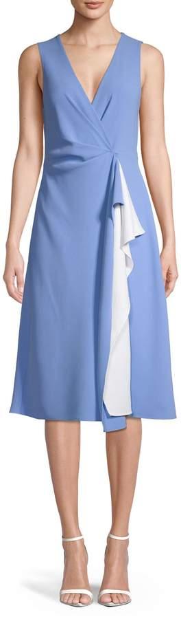 Diane von Furstenberg Gathered A-Line Dress