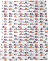 uneekee Disco Fish Blanket: