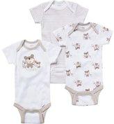 Gerber Baby 3 Pack Onesies Short Sleeves 0-3 M Hugable