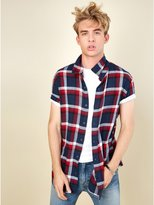 GUESS Brock Plaid Shirt
