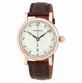 Chronoswiss Sirius Silver Dial Brown Leather Strap Automatic Swiss Watch CH-2841.1R