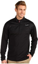 Tiger Woods Golf Apparel by Nike Nike Golf Mapped Half-Zip Cover-Up (Black) - Apparel
