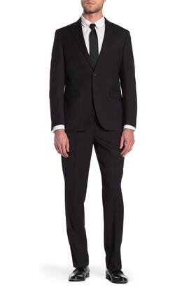Dockers Black Two Button Notch Lapel Suit