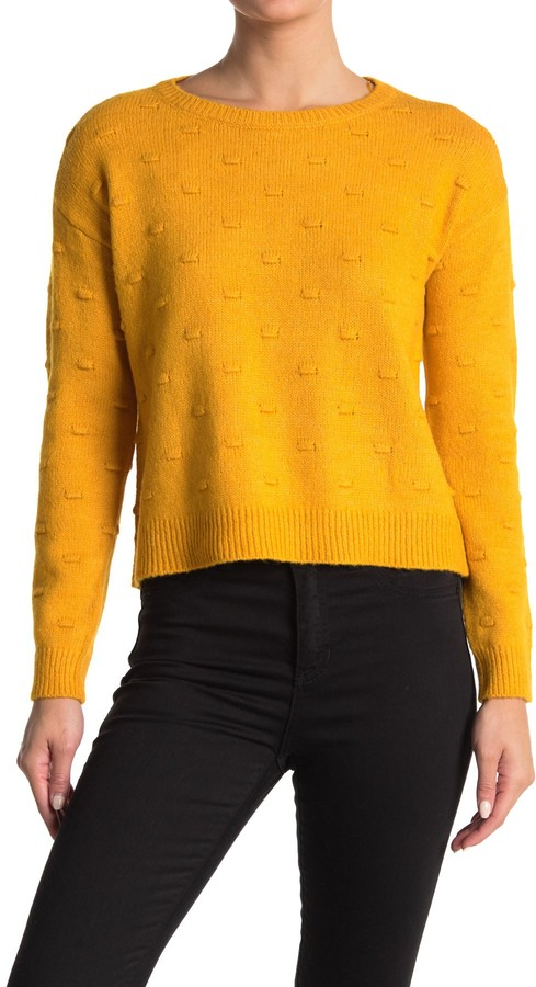 Love by Design Full Circle Bobble Knit Sweater