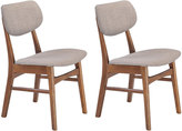 Zuo Modern 2-piece Midtown Dining Chair Set