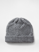 DKNY Cable Knit Cuff Hat