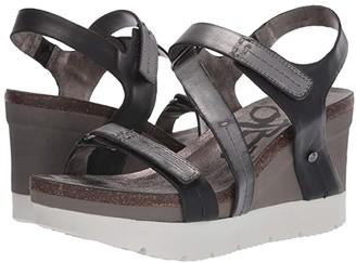 OTBT Wavey (New Black) Women's Wedge Shoes