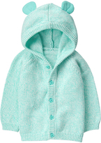 Gymboree Blue Button-Up Hoodie - Infant