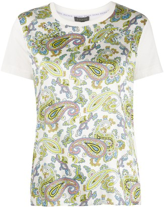 Escada paisley-print jersey T-shirt