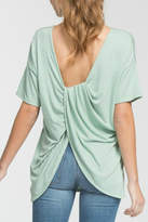 Cherish Twist-Of-Fate Top