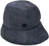 Maison Michel Veronica denim-effect bucket hat