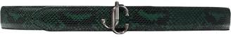 Jimmy Choo snakeskin-effect Felisa belt