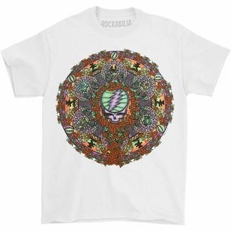 Liquid Blue Grateful Dead Celtic Mandala White T-Shirt X-Large