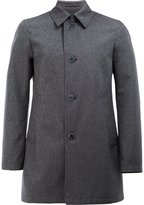 Herno single-breasted coat - men - Cotton/Polyester - 46