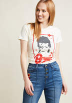 ModCloth Electric You Graphic T-Shirt in XXL