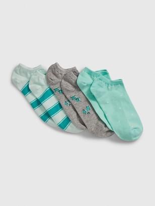 Gap Ankle Socks (3-Pack)