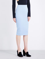 Victoria Beckham Stretch-wool pencil skirt