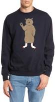 Altru Men's Bear In Socks Sweatshirt
