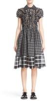 Comme des Garcons Check Pattern A-Line Dress