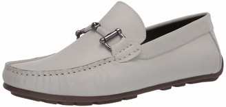 Driver Club Usa Men's Luxury Full Sole Loafer with Leather Bit Buckle Driving Style