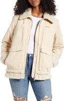 Urban Outfitters Bdg Faux Fur Lined Utility Jacket