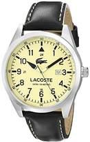 Lacoste Men's 2010782 Montreal Analog Display Japanese Quartz Black Watch