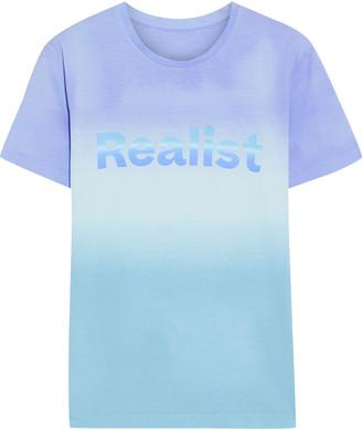Paco Rabanne + Peter Saville Printed Degrade Cotton-jersey T-shirt