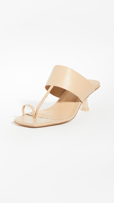 Cult Gaia Yvette Toe Ring Sandals