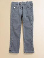 Chloé Girl's Grey Jeans