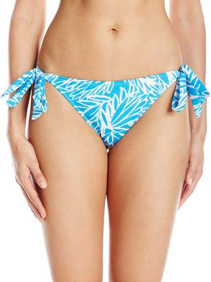 Milly Women's Lotus Print Long Beach Bikini Bottom