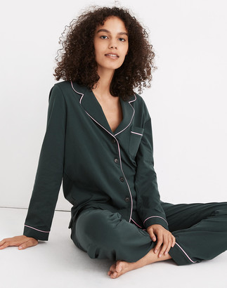 Madewell Knit Bedtime Long-Sleeve Pajama Top