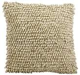 "Nourison Ivory/Gray Heavy Single Loop Throw Pillow (20""x20"")"