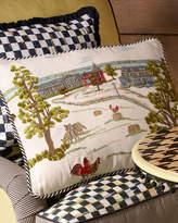 Mackenzie Childs MacKenzie-Childs MacKenzie-Childs Farm Pillow
