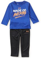 Under Armour Baby Boys 12-24 Months Made Of Awesome Long-Sleeve Tee & Pant Set