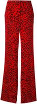 Roberto Cavalli printed palazzo pants - women - Silk/Viscose - 38