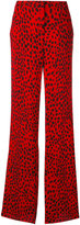 Roberto Cavalli printed palazzo pants - women - Viscose/Silk - 38