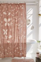 Urban Outfitters Klara Allover Floral Shower Curtain