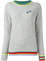 Mira Mikati skateboard patch jumper